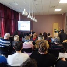 """Izstādes \""""Romu holokausts Latvijā\"""" atklāšana un lekcija par romu kultūru un vēsturi"""
